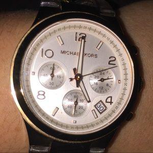 Rose gold Michael Kors chain  watch